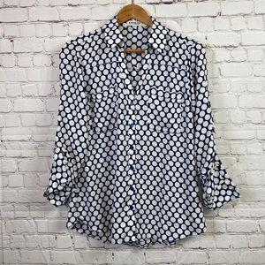 Express the Portofino Polka Dotted Shirt
